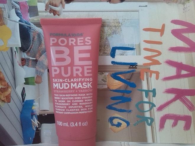 Formula 10.0.6 pores be pure skin clarifying mud mask