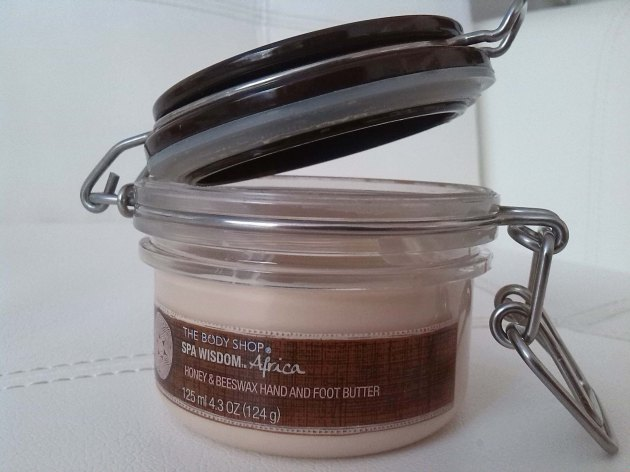 Body Shop SPA WISDOM™ AFRICA HONEY & BEESWAX HAND AND FOOT BUTTER